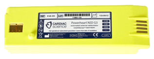 Cardiac Science Intellisense<sup>®</sup> Lithium Battery for Powerheart<sup>®</sup> G3 Pro AED