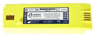 Cardiac Science Intellisense<sup>®</sup> Lithium Battery for Powerheart<sup>®</sup> G3 AED