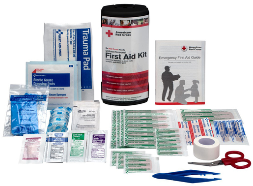 First Aid Only<sup>&reg;</sup> Red Cross Deluxe Personal First Aid Kit, 66-piece