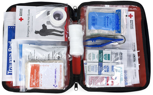 "First Aid Only<sup>®</sup> ""Be Red Cross Ready"" First Aid Kit, 73-piece"