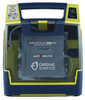 Cardiac Science Powerheart<sup>&reg;</sup> AED G3, Automatic with Rescue Coach