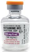 Hikma CIII Ketamine, 100mg/mL, 5mL Vial