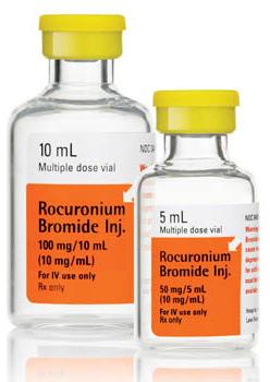 Rocuronium Bromine Injection, 10 mg/mL