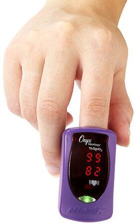 Curaplex<sup>®</sup> Nonin Onyx<sup>®</sup> Vantage 9590 Finger Pulse Oximeter