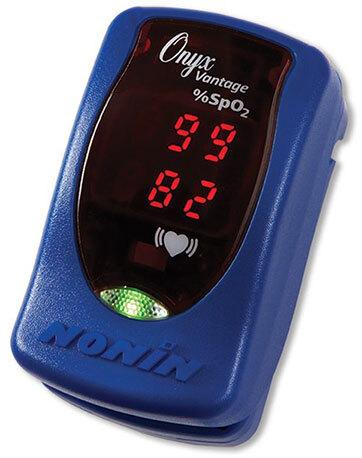 Curaplex<sup>®</sup> Nonin Onyx<sup>®</sup> Vantage 9590 Finger Pulse Oximeter, Blue