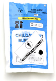 Cardiac Science<sup>®</sup> Training Pediatric AED Pads