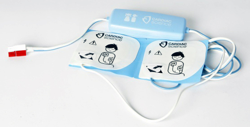 Cardiac Science Powerheart<sup>®</sup> G3 Pediatric AED Defibrillation Pads/Electrodes