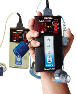 Nonin 9840 Series Pulse Oximeters and CO2 Detectors Accessories, Reusable CO2 Sensor