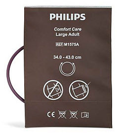 Philips Comfort Care Blood Pressure Cuff, Large Adult