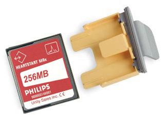 Philips Data Card and Tray for HeartStart MRx Monitor/Defibrillator