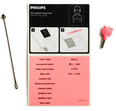 Philips Infant/Child Key for HeartStart FR3 AED
