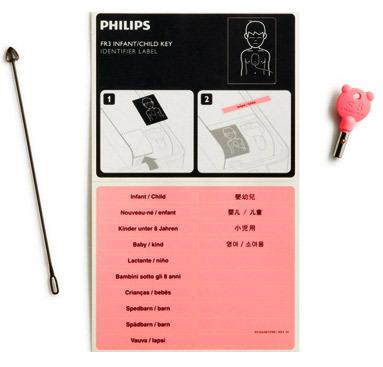 Philips Infant/Child Key for HeartStart FR3 AED