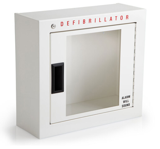 Philips Basic AED Defibrillator Cabinet with Alarm