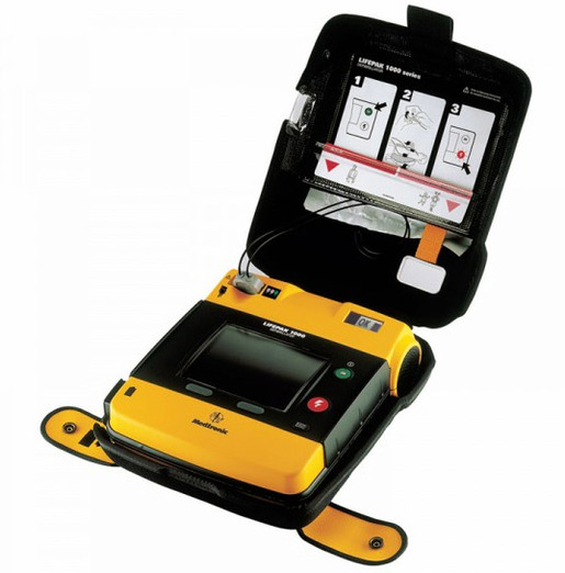 Physio-Control LifePak<sup>&reg;</sup> 1000 AED, Recertified, Graphical Display