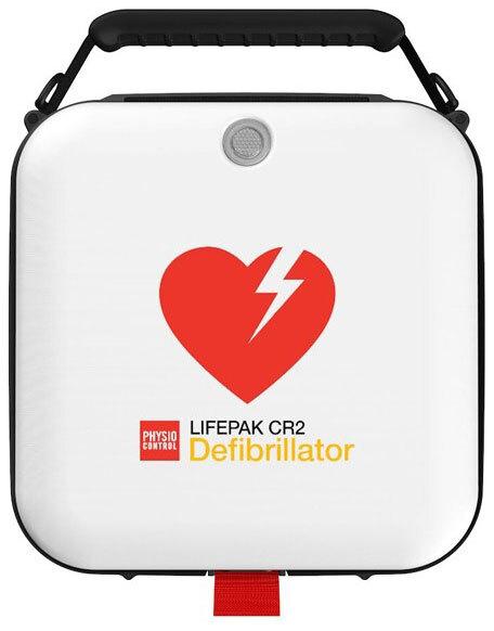 Physio-Control LifePak<sup>®</sup> CR2 AED, Semi-automatic, WiFi, English, Handle