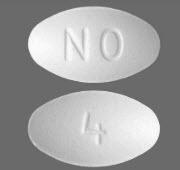 Ondansetron, Orally-disintegrating, 4mg Tablet, 30/pkg