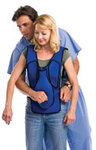 Act+Fast<sup>™</sup> Anti Choking Trainer Vest, Blue without Back Slap Pad, Adult