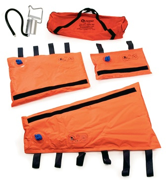 Ferno Vacuum Splints, Orange, Complete Kit