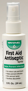 Water-Jel<sup>®</sup> First Aid Antiseptic Spray, 2oz Spray Bottle