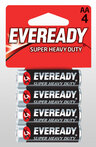 Eveready<sup>®</sup> Super Heavy Duty Batteries, AA