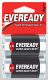 Eveready<sup>®</sup> Super Heavy Duty Batteries, C