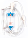 Biomedix Selec-3 Multiple Drop IV Set with 2 Needleless Y-sites, 84.5""