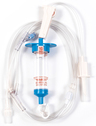 Biomedix Selec-3 Multiple Drop IV Set with 1 Needleless Y-site and Luer-activated Y-Site, Spin Lock, 82""