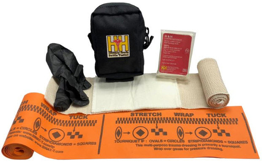 H&H Medical Basic Bleeding Control Kit, Vacuum-sealed Bag