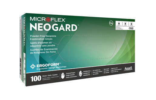 Microflex<sup>®</sup> Neogard<sup>®</sup> C52 Neoprene Exam Gloves