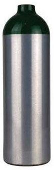 Aluminum O2 Cylinder with Z Valve, Size Jumbo D