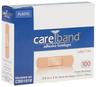 "CareBand Flexible Bandage Adhesive Strips, Plastic, 3/4"" x 3"""
