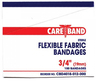 "CareBand Flexible Bandage Adhesive Strips, Plastic, 1"" x 3"""