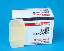 CareBand Flexible Bandage Adhesive Strips