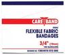 """CareBand Flexible Bandage Adhesive Strips, Fabric, 3/4"""" x 3"""""""