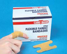 Care Band Flexible Bandage Adhesive Strips, Fabric, Knuckle