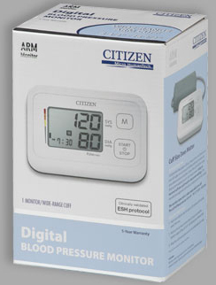 Veridian<sup>®</sup> Citizen Digital Blood Pressure Arm Monitor