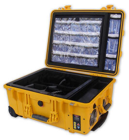 Thomas Clima-Tech Temperature Controlled EMS Case, Yellow