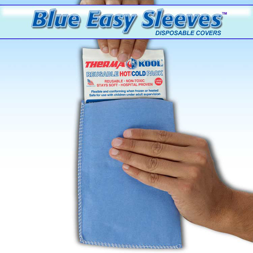 "Therma-Kool Blue Easy Sleeve for TK49, 4"" x 10"""
