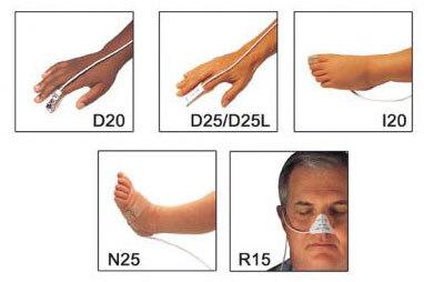 Nellcor<sup>™</sup> Oxisensor<sup>®</sup> II Adhesive Sensors, Dura-Y, Multisite