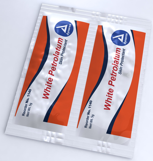 White Petrolatum, USP, Skin Protectant, 5g Foilpacs<sup>&reg;</sup>