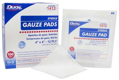 DUKAL<sup>™</sup> Sterile Gauze Pads, 4&rdquo; x 4&rdquo;
