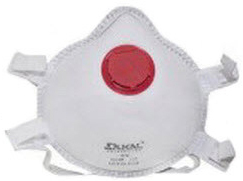 DUKAL<sup>®</sup> N95 Respirator Mask, 1-way Valve, Cone