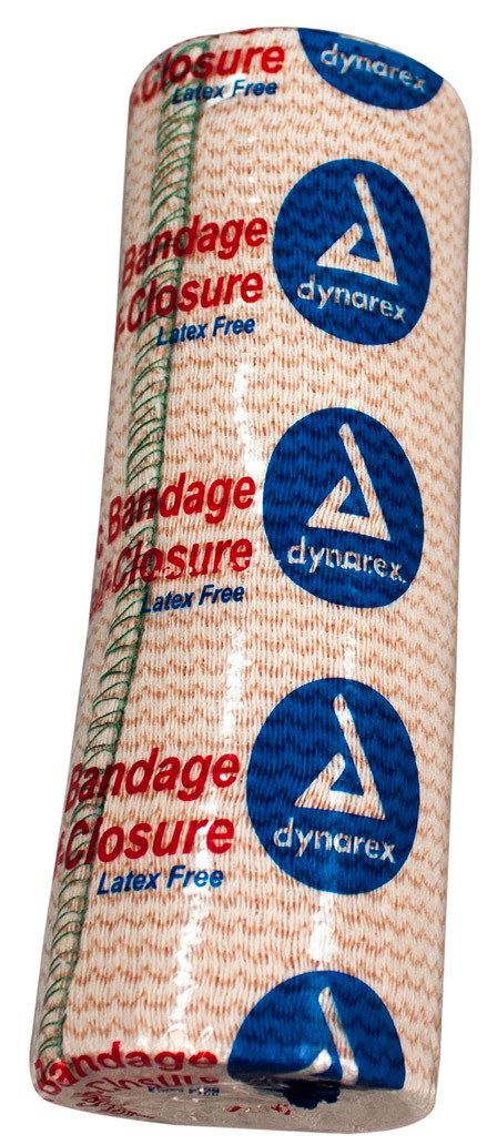 Dynarex<sup>&reg;</sup> Elastic Bandage with Self-Closure, 6&rdquo; x 5yd