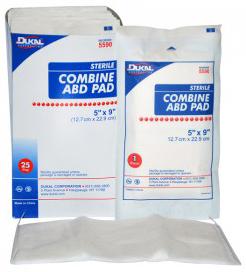 DUKAL<sup>®</sup> Combine ABD Surgi-Pads, Sterile