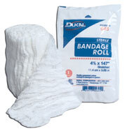"""DUKAL<sup>®</sup> Sterile Bandage Roll, 6-ply, 4.5"""" x 4.1yd"""