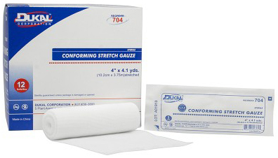 DUKAL Conforming Stretch Gauze, Sterile, 6""