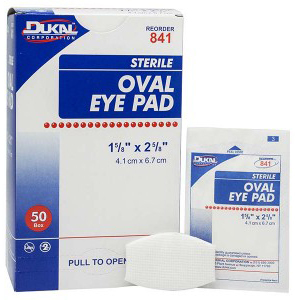 DUKAL<sup>®</sup> Eye Pads, Oval