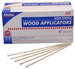 DUKAL<sup>®</sup> Non-sterile Wood Applicator, 6""