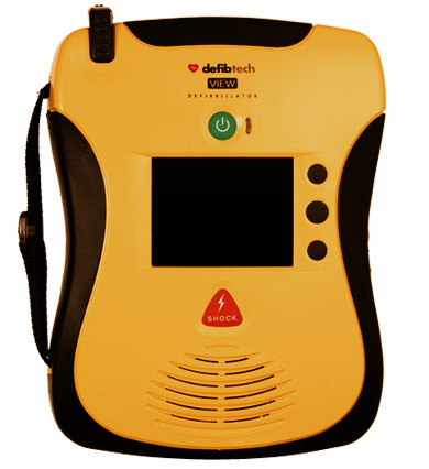 Defibtech Lifeline VIEW AED Standard Package