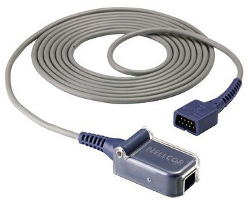 Nellcor Differential Sensor Extension Cable, 8'